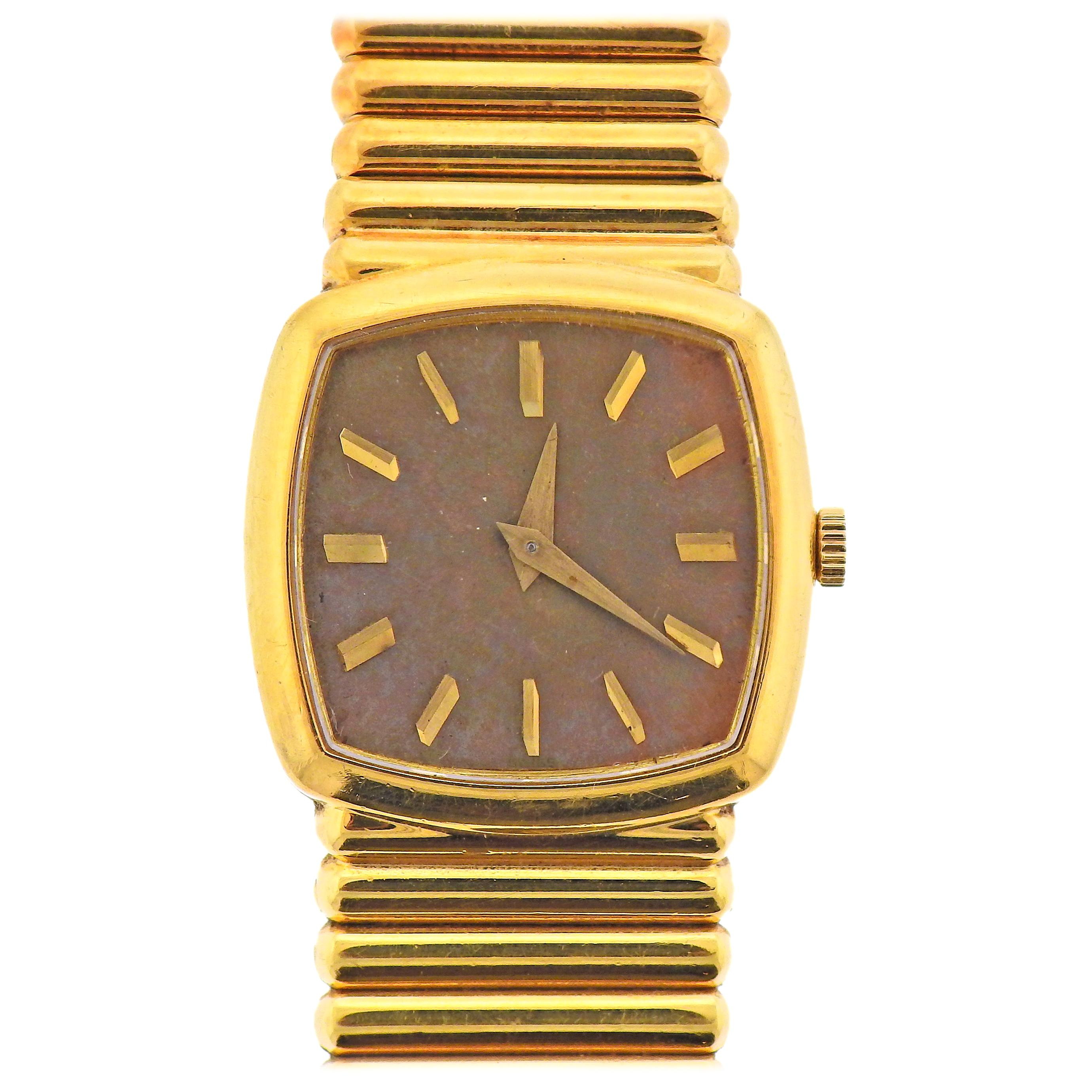 Piaget 1970s Gold Watch