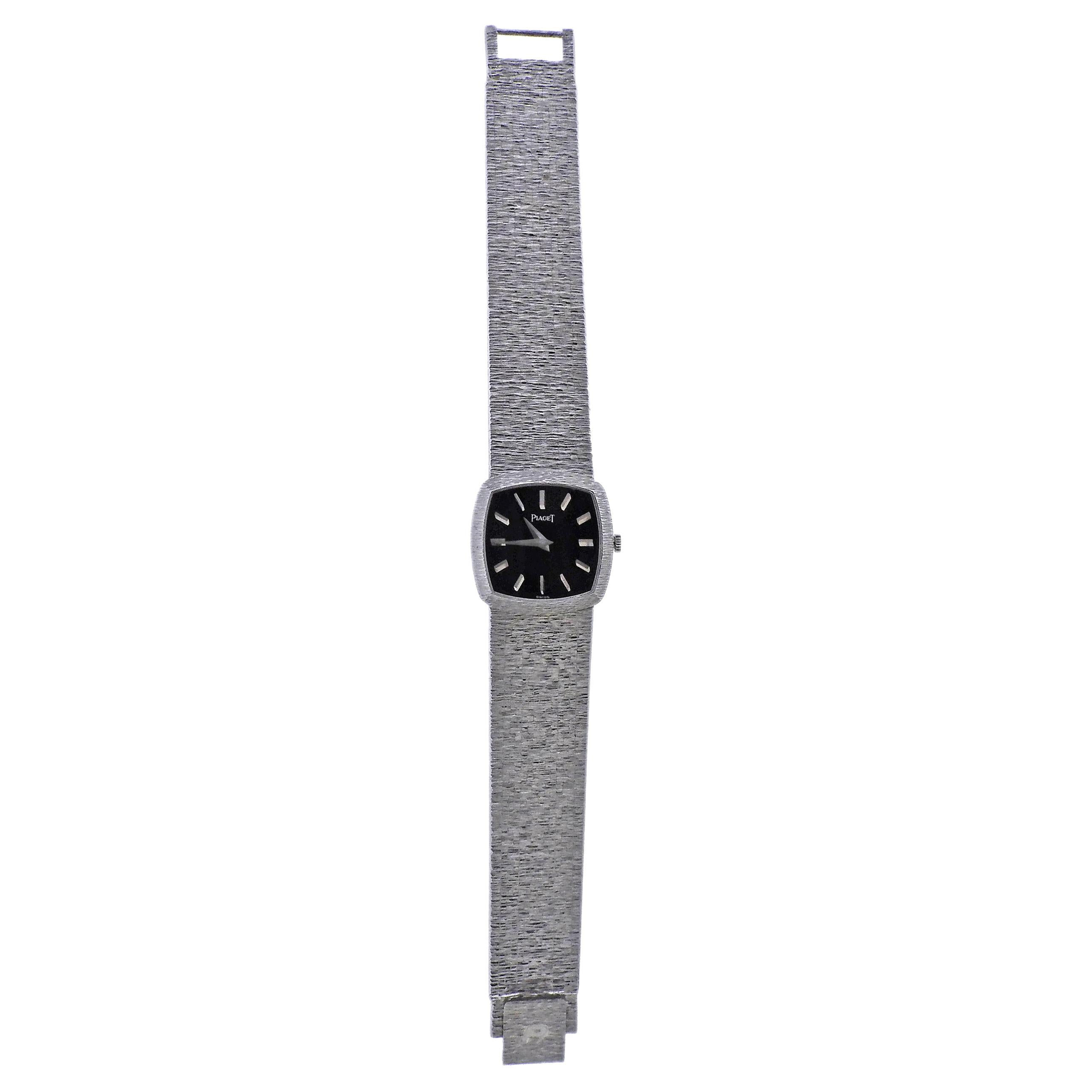 Piaget 1970s White Gold Lady's Watch