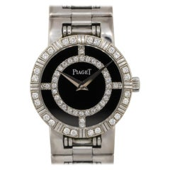 Piaget 90564 Dancer Black Onyx Diamond Watch 18 Karat in Stock
