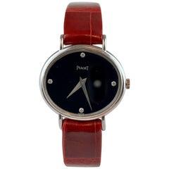 Piaget 9802 18 Carat Gold Diamond Wristwatch