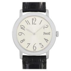 Piaget Altiplano 18 Karat White Gold Watch 850215