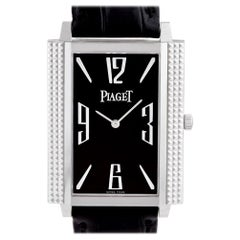 Piaget Black Tie GOA30161, Black Dial, Certified and Warranty