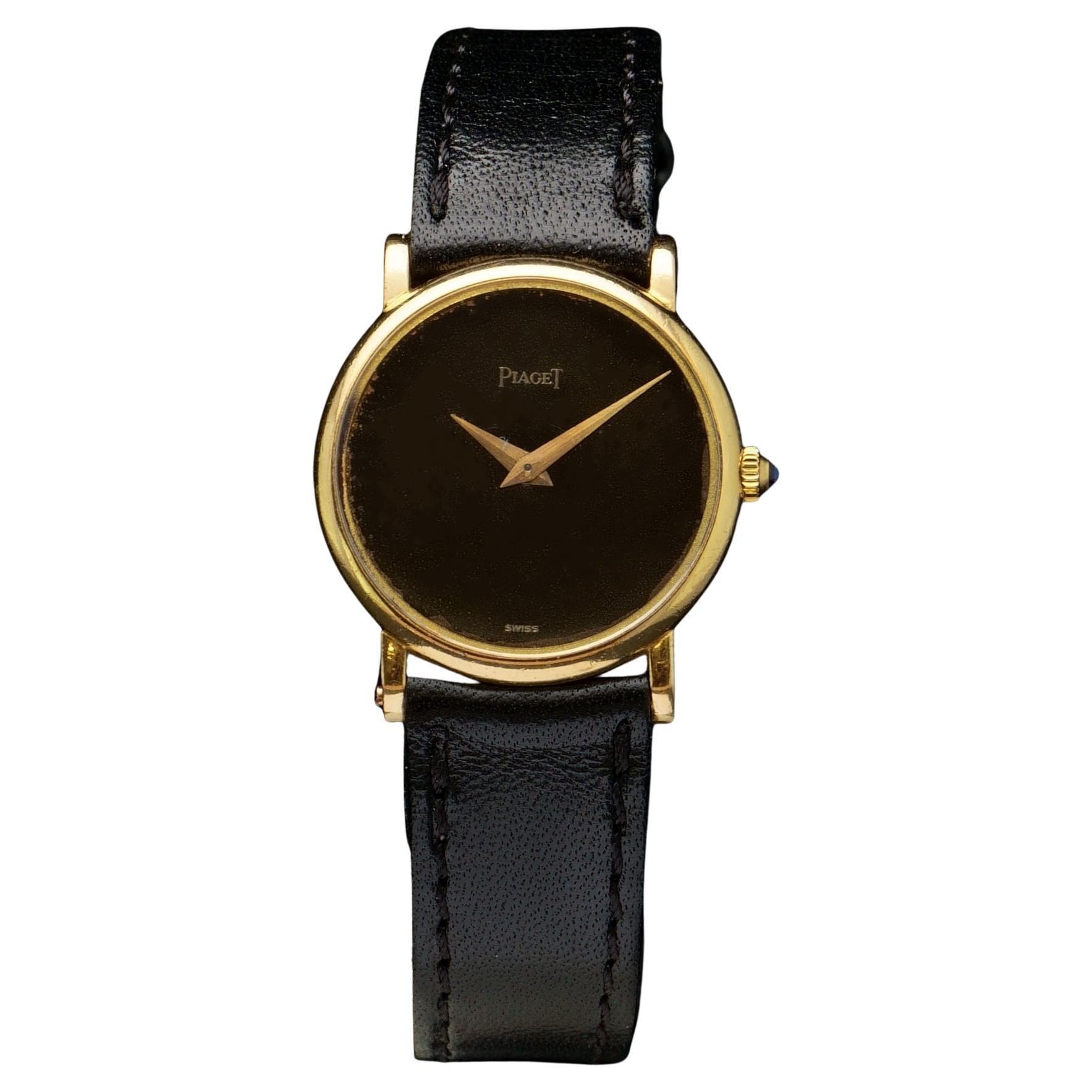 Piaget Classic 18kt Gold Manual Winding Wristwatch