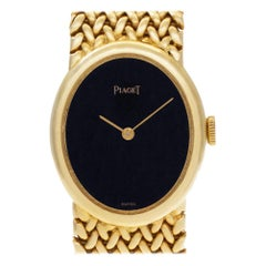 Piaget Classic 6822 K 30, Black Dial, Certified and Warranty
