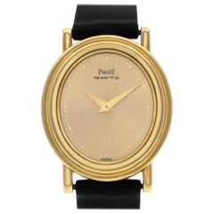 Piaget Classic 7358, Gold Dial, Certified and Warranty