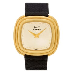 Piaget Classic 75101, Gold Dial, Certified and Warranty
