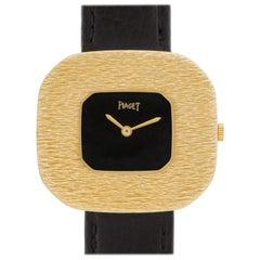 Piaget Classic 99036 18 Karat Black Dial Manual Watch