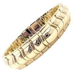 Piaget Classic Thick Limited Edition 1990 Yellow Gold Bracelet