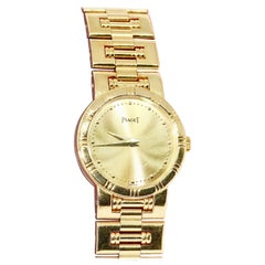 Piaget Dancer Ladies Wrist Watch, 18 Karat Gold