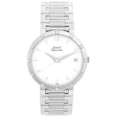 Piaget Dancer Men's 18 Karat White Gold Watch