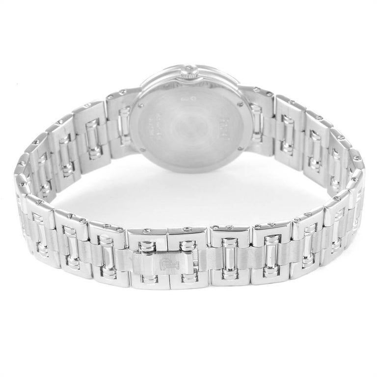 Piaget Dancer White Gold Mother of Pearl Diamond Ladies Watch 80564 For Sale 3