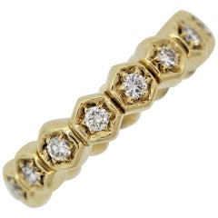 Piaget Diamond Gold Eternity Band Ring