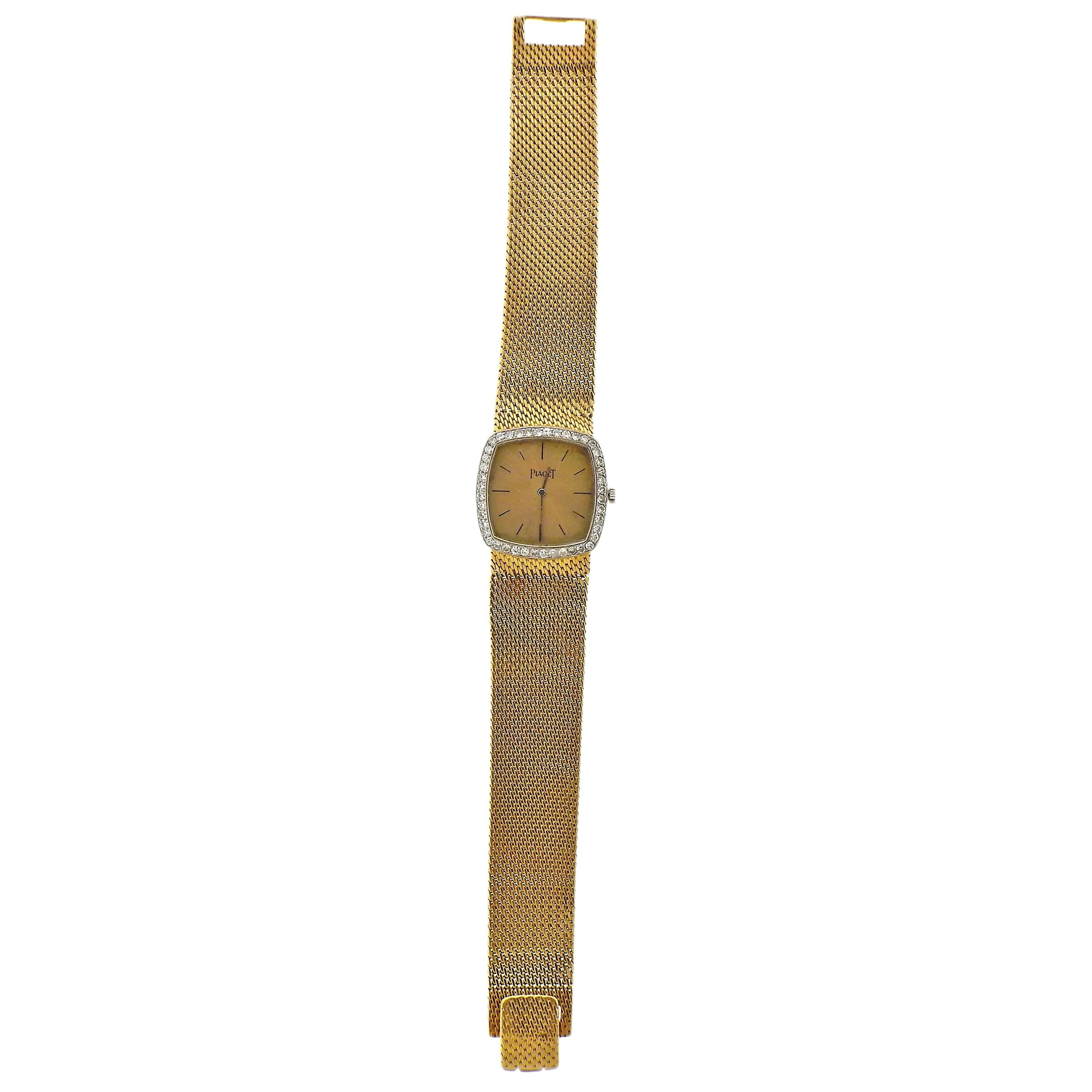 Piaget Diamond Gold Ladies Watch