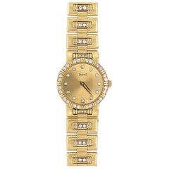 Piaget Diamond Gold Lady's Watch