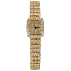 Piaget Diamond Halo Bracelet Watch
