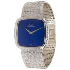 Piaget Dress 12773, Blue Dial, Certified and Warranty