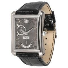 Piaget Emperador P10566 Men's Watch in 18 Karat White Gold