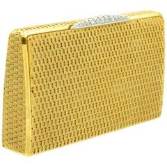 Piaget Gold and Diamond Minaudiere