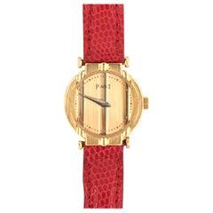 Piaget Gold Polo Wristwatch