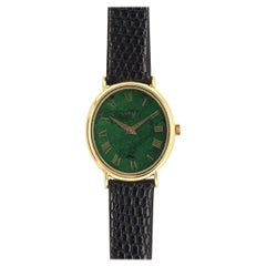 Piaget Jade and Gold Wristwatch