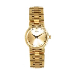 Piaget Ladies Yellow Gold Dancer Quartz Wristwatch
