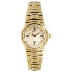 Piaget Ladies Yellow Gold Diamond Tanagra quartz Wristwatch