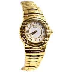 Piaget Ladies Yellow Gold Tanagra Quartz Wristwatch Ref 15031