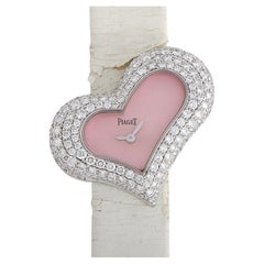 Piaget Limelight White Gold Diamond Heart Watch P10257