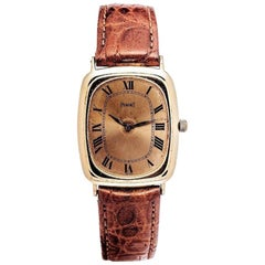 Piaget Manual Winding 9251, Gold Dial, Certified and Warranty