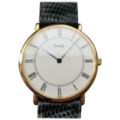 PIAGET Men's 18k Gold Altiplano 9035 Hand-Wind, c.1980s Swiss All Original LV872