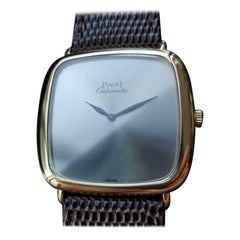 PIAGET Men's 18k Gold cal.12PC1 Automatic Dress Watch c.1970s Swiss Luxury LV862