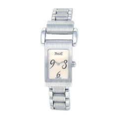 Piaget Miss Protocole 18 Karat White Gold Swiss Quartz Ladies Watch 5321