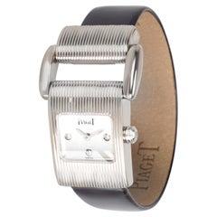 Piaget Miss Protocole 5221 Women's Watch in 18 Karat White Gold