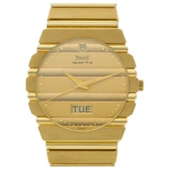 Piaget Polo 15562c701, Gold Dial, Certified and Warranty