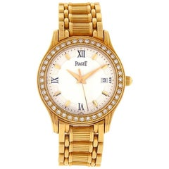 Piaget Polo 23005 M 501 D, White Dial, Certified and Warranty