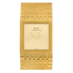 Piaget Polo 368727, Gold Dial, Certified and Warranty