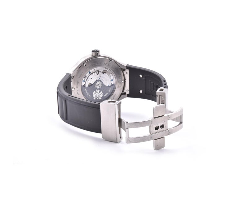 Women's or Men's Piaget Polo 45 Titanium Watch Ref. GOA34011 For Sale