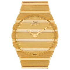 Piaget Polo 7661 C701, Gold Dial, Certified and Warranty