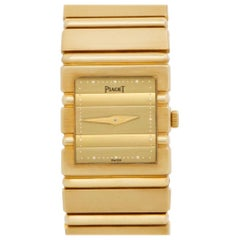 Piaget Polo 8131 C701, Gold Dial, Certified and Warranty