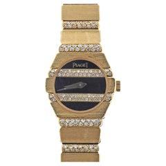 Piaget Polo Diamond Gold Watch