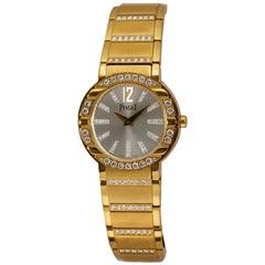 Piaget Polo Gold and Diamond Watch Ref P10141, circa 2005