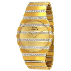 Piaget Polo Two-Tone Gold and Diamond Watch 367758