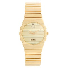 Piaget Polo Yellow Gold Watch with Day & Date Men's Watch 15562 C701