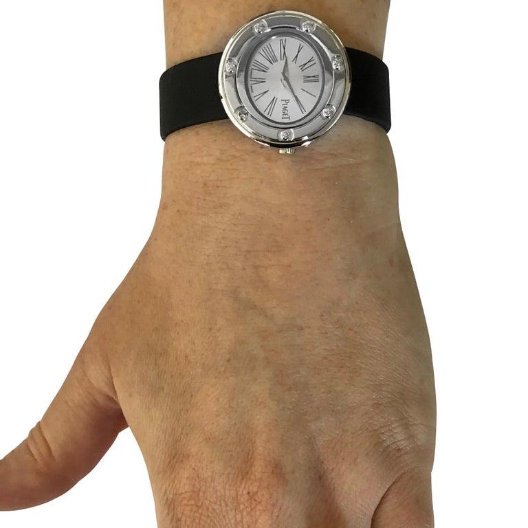 Modern Piaget Possession 7 Diamond Ladies Watch For Sale