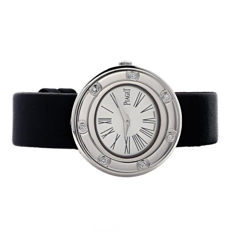 Round Cut Piaget Possession 7 Diamond Ladies Watch For Sale