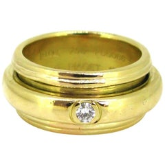 Piaget Possession Collection Diamond Large Band Ring, 18 Karat Yellow Gold, 1993