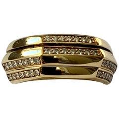 Piaget Possession Diamond and 18 Karat Yellow Gold Ring