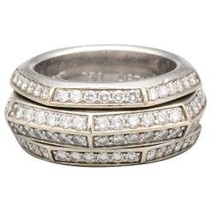Piaget Possession Diamond and 18 Karat White Gold Band