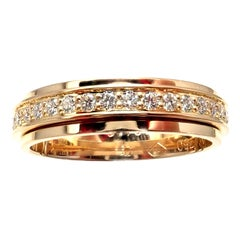Piaget Possession Diamond Rotating Eternity Yellow Gold Band