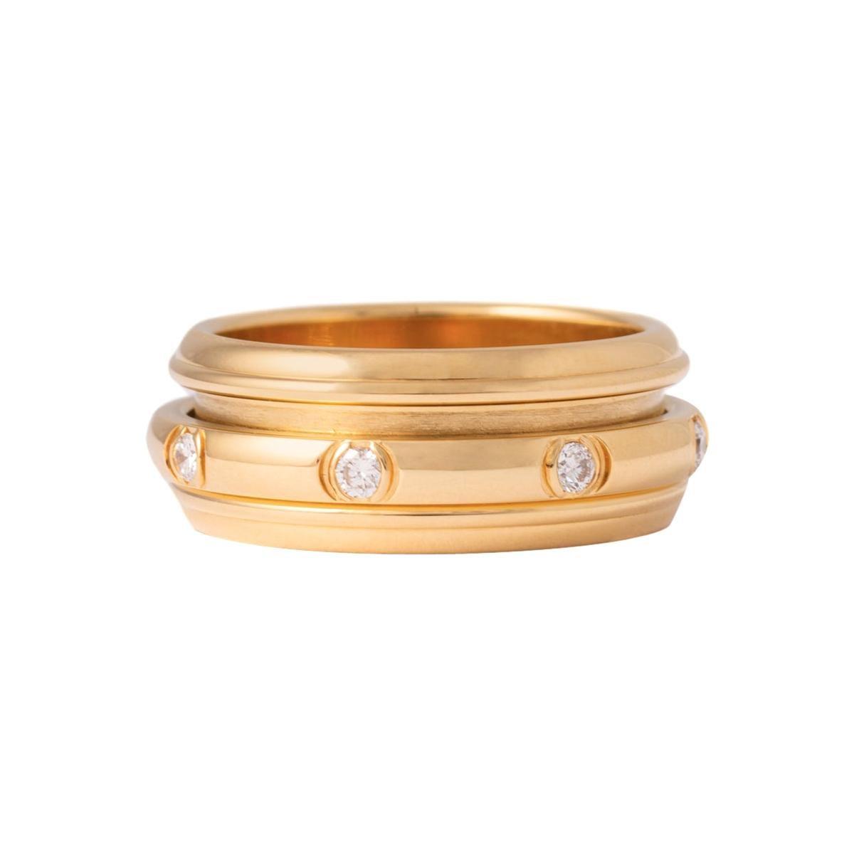 Piaget Possession Diamonds Yellow Gold Band Ring